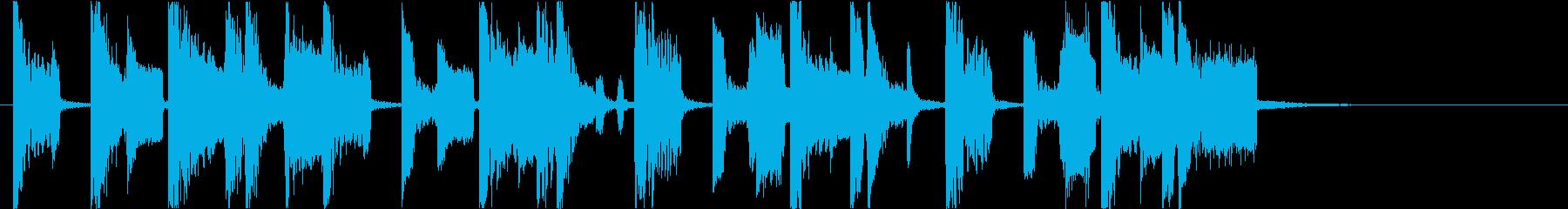 【DJ効果音】夕暮れの大都市の再生済みの波形