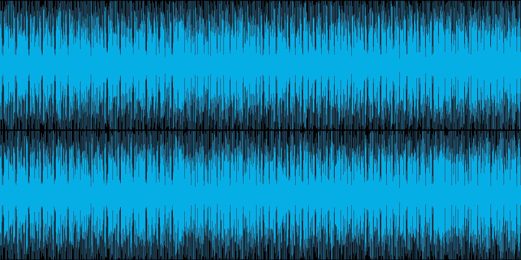 シンセメロディのお洒落なエレクトロポップの再生済みの波形