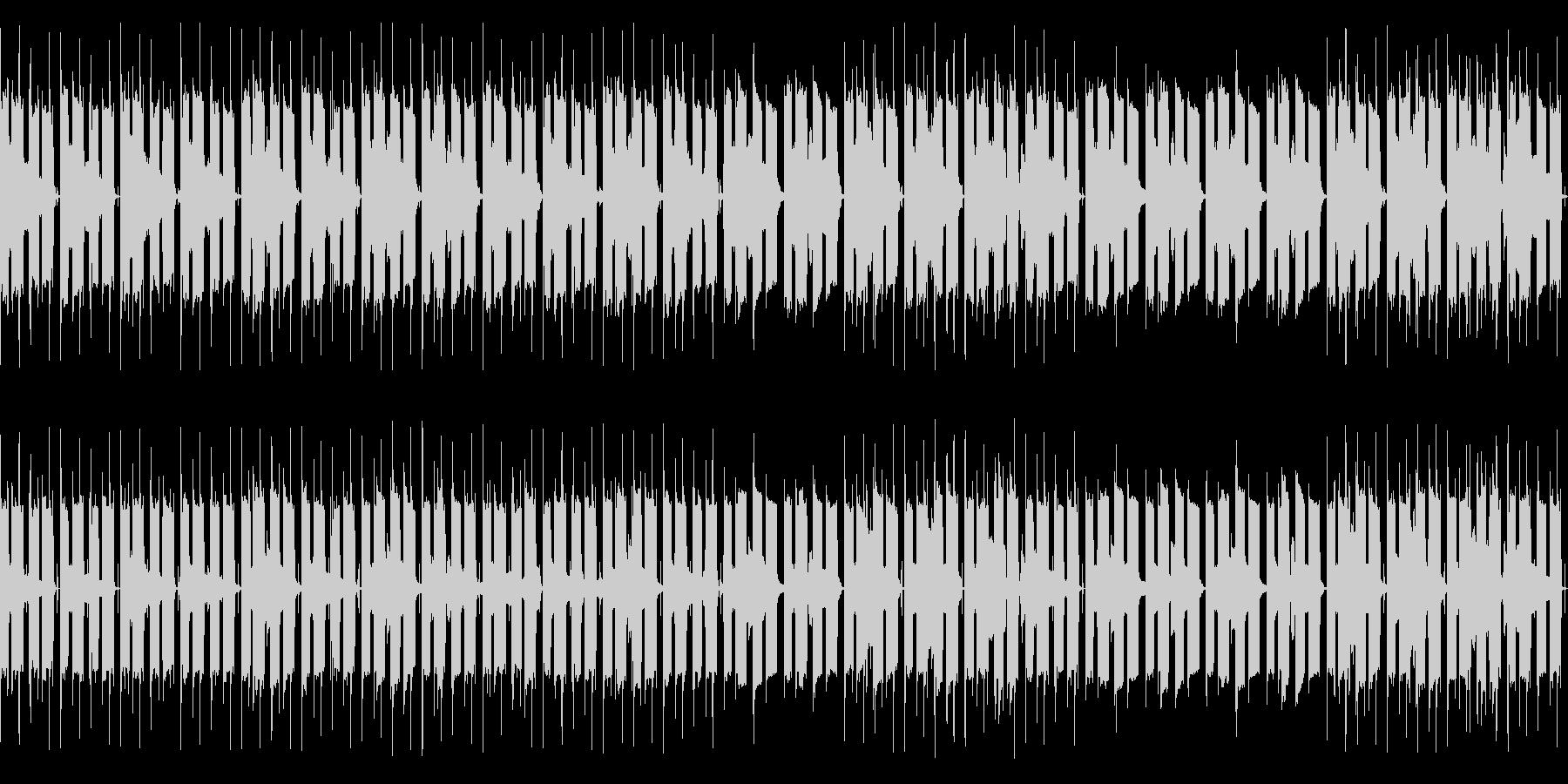 エレピとミュートTpのLo-Fiチルの未再生の波形