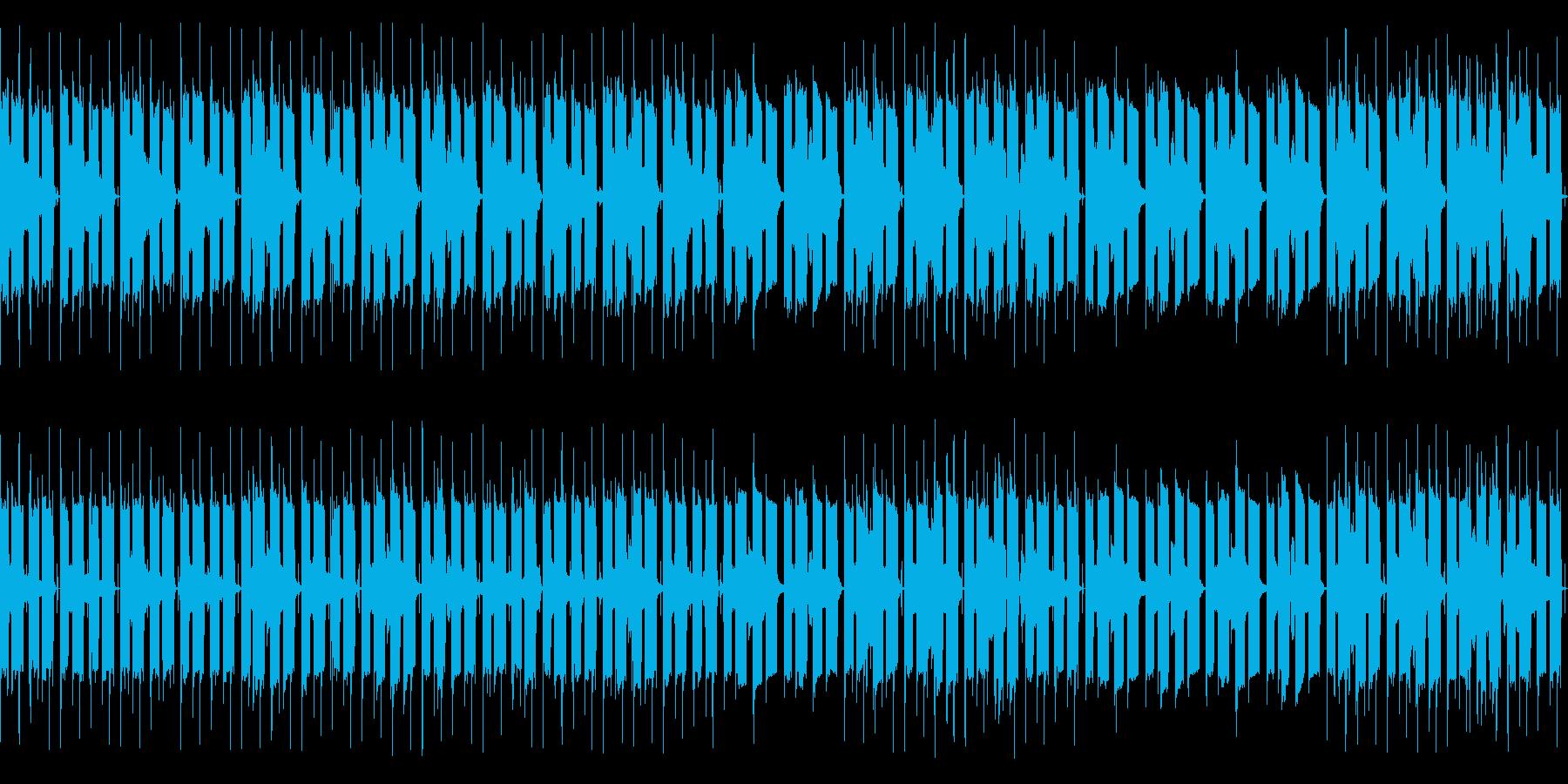 エレピとミュートTpのLo-Fiチルの再生済みの波形