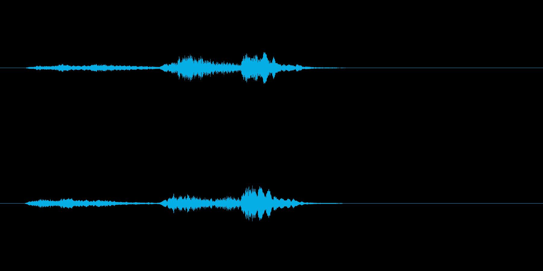 こどもお化けの声(10歳男の子)の再生済みの波形