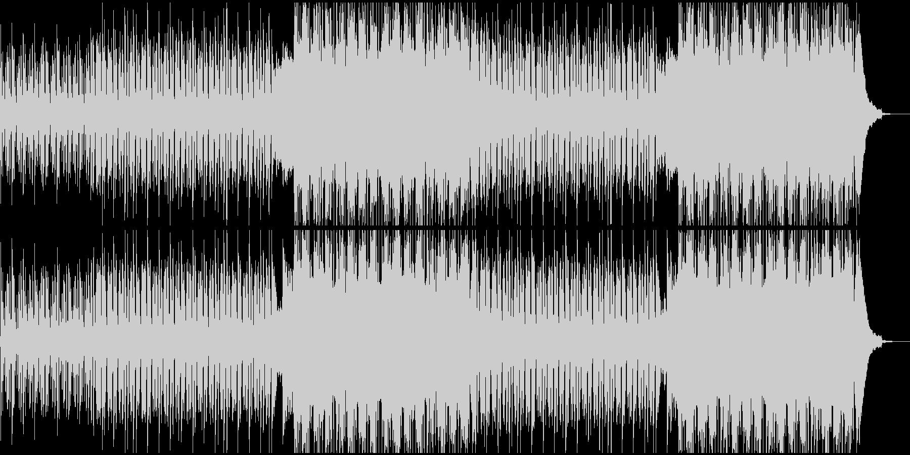 各種映像に最適、洋楽風のアコギBGMの未再生の波形