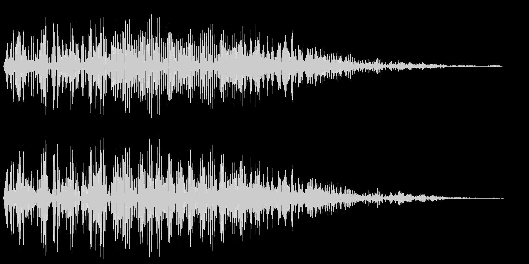 ブーンプシュー (重厚感のある開閉音)の未再生の波形