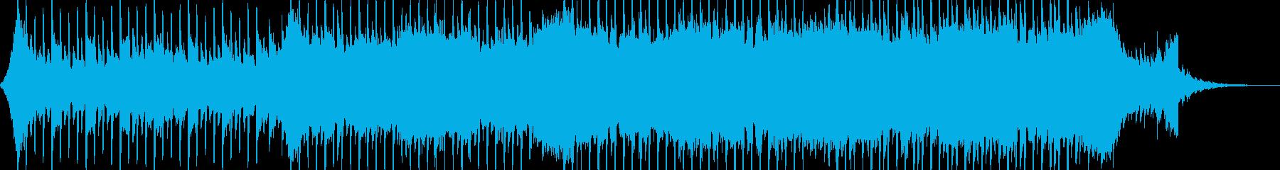 企業VP系43、爽やかギター4つ打ちbの再生済みの波形