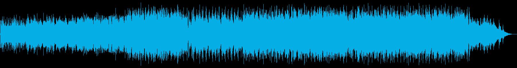 切ないメロディーが印象的なバラードBGMの再生済みの波形