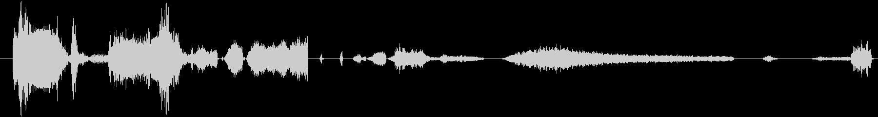 イメージ 言葉のノイズ02の未再生の波形