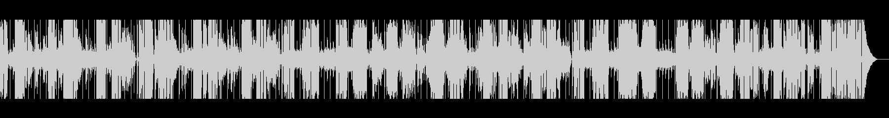 【古いラジオ風】スローブルースの未再生の波形