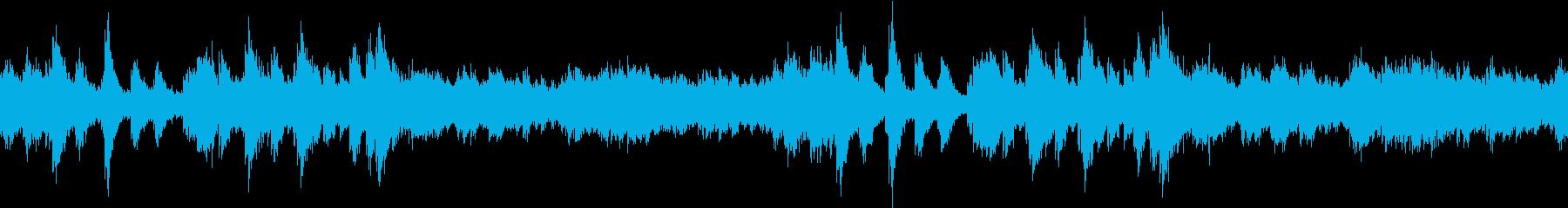 【ループ】幻想的な冬のアンビエントの再生済みの波形