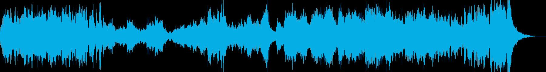 オーケストラ 決断を迫る場面にの再生済みの波形