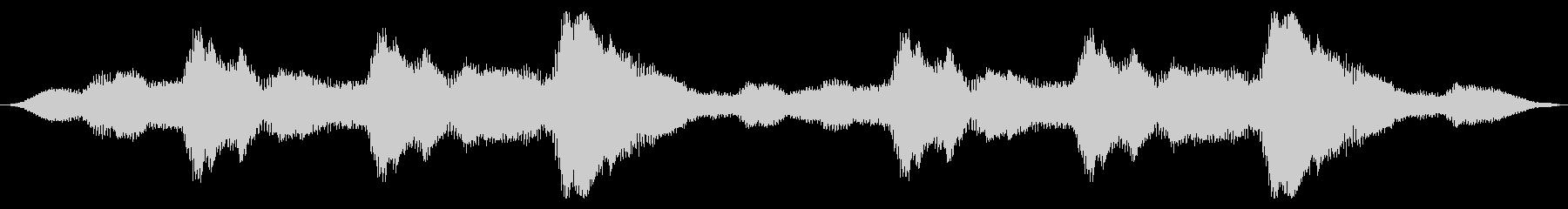 スペースドローン:エレクトロバズスワールの未再生の波形