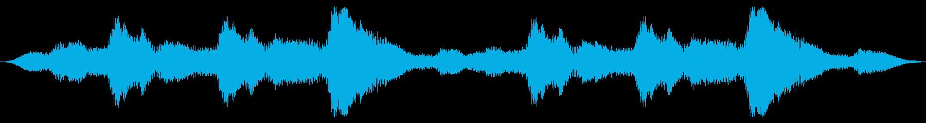 スペースドローン:エレクトロバズスワールの再生済みの波形