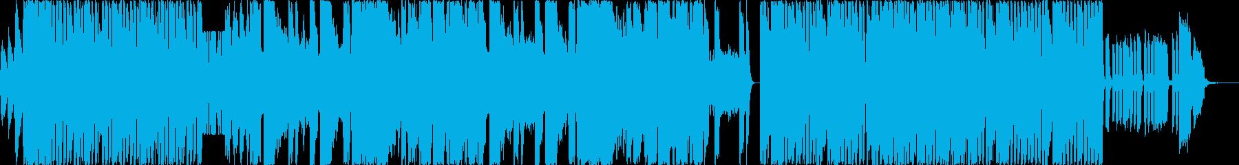 パーティーピープルの為のEDMの再生済みの波形