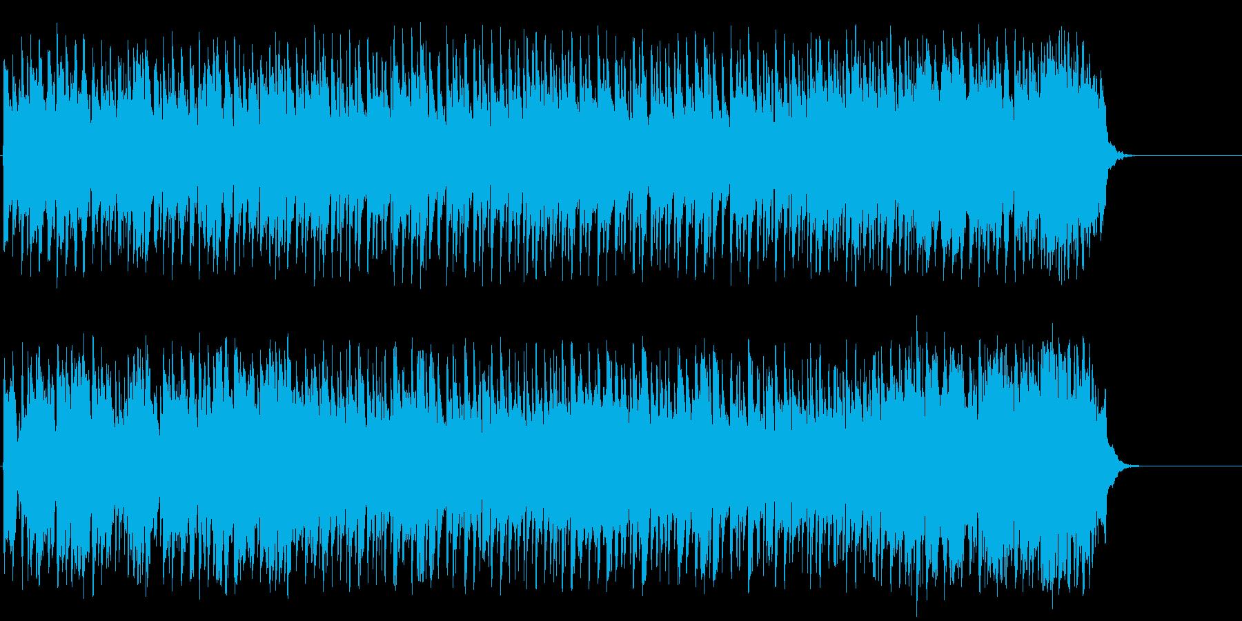 心弾む可愛らしいポップ(イントロ~サ…)の再生済みの波形