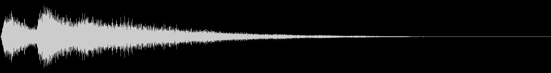 ヒュンヒュンヒロロロ(飛び立つユフォー)の未再生の波形