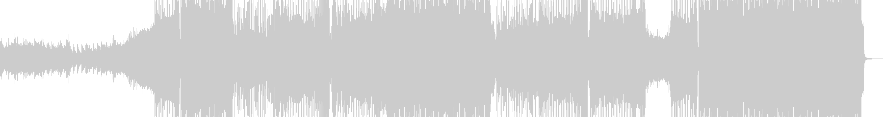 激しくド派手な展開に適したロック 長尺+の未再生の波形
