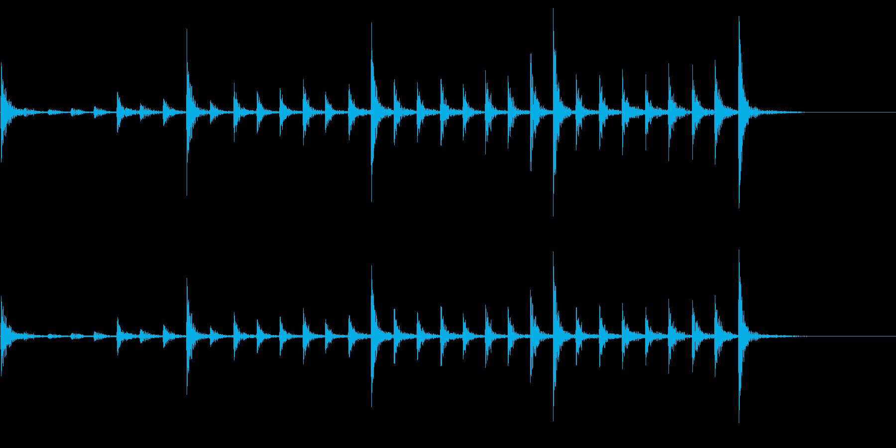 低音:遅いリズム、漫画コメディパー...の再生済みの波形