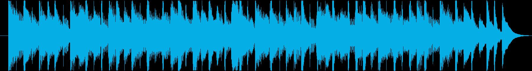 楽しくコミカルなBGM(15ver)の再生済みの波形