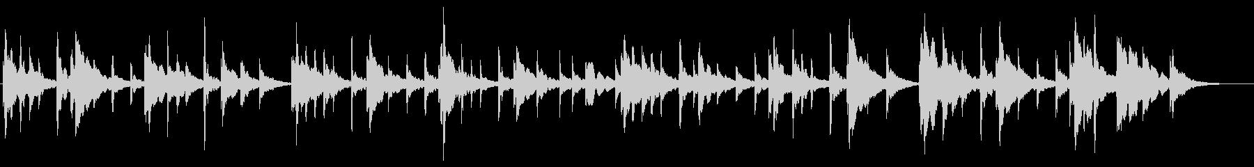 オーケストラクリスマス映像用の明るい曲の未再生の波形