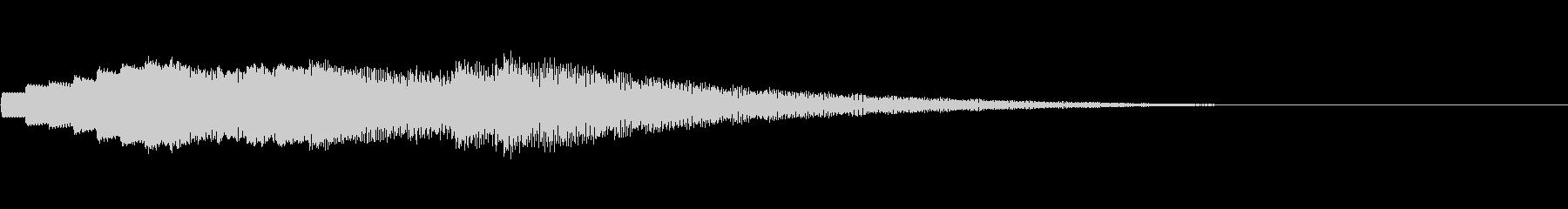 KANTチャイムベルアイキャッチ29の未再生の波形