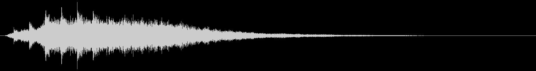 キラキラキラ...(ゴージャス、回復音)の未再生の波形