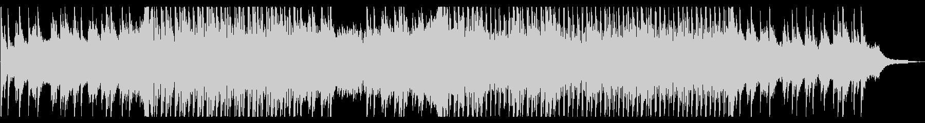 ピアノのアンビエントの未再生の波形