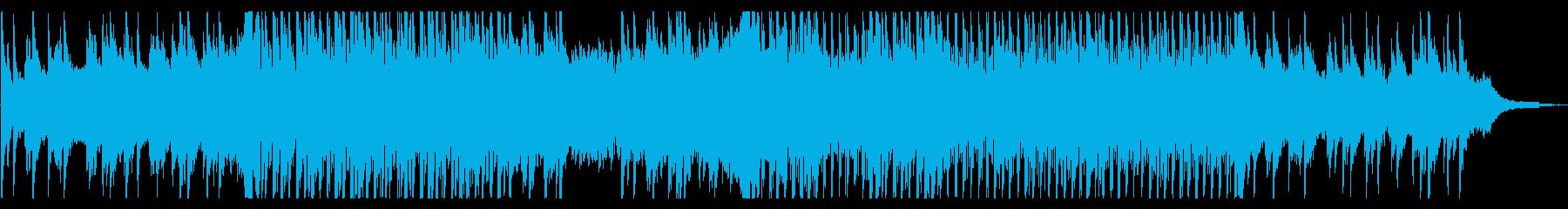 ピアノのアンビエントの再生済みの波形
