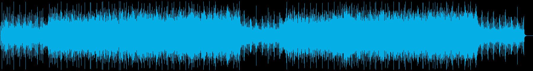 [Cool Western music BGM] Success, determination, decision's reproduced waveform