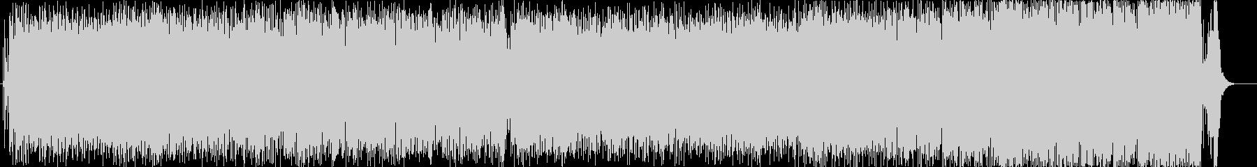 三味線・尺八を使ったハイテンションな曲の未再生の波形