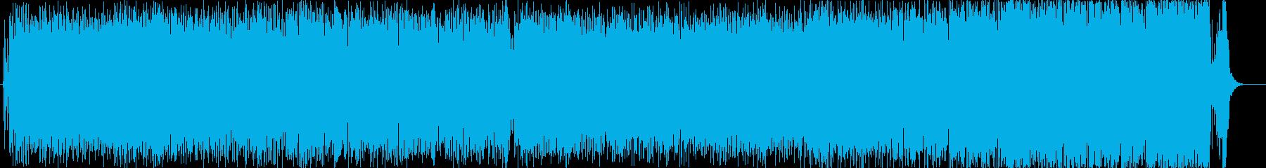 三味線・尺八を使ったハイテンションな曲の再生済みの波形