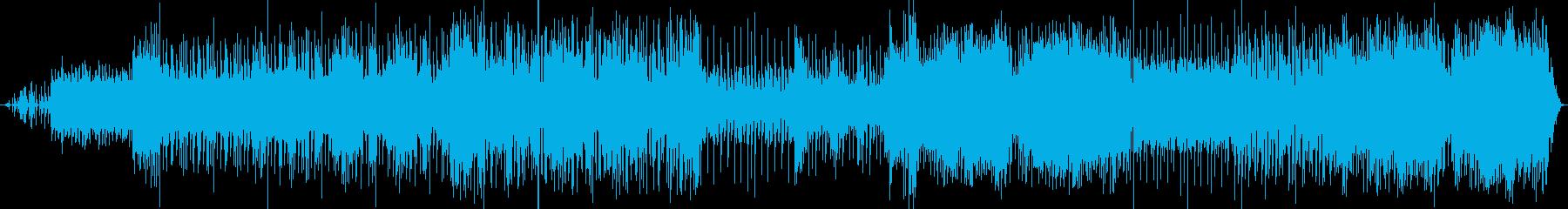シンセサイザーをバックにバイオリンを乗…の再生済みの波形