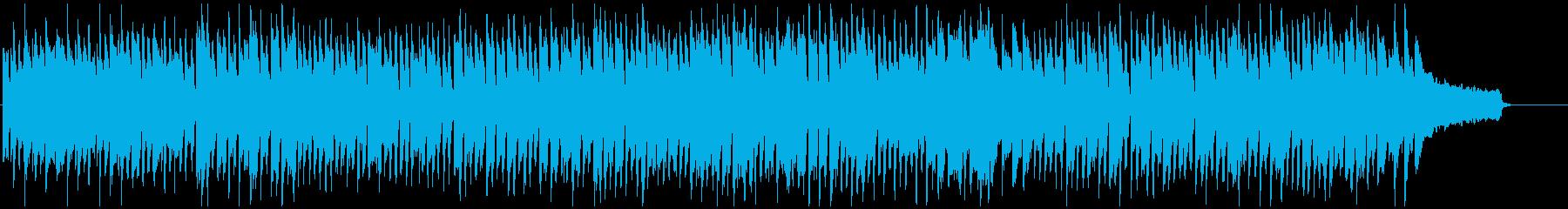 晴れた日、お出かけ、ポップなリコーダー曲の再生済みの波形