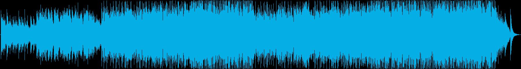 軽快な感じのラブバラードです。の再生済みの波形