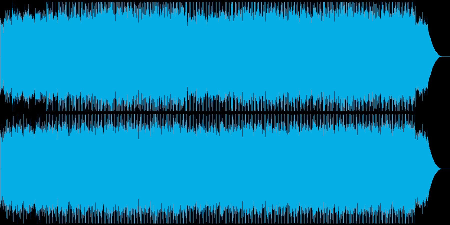 企業VPやCMに 爽やかさ溢れるピアノの再生済みの波形