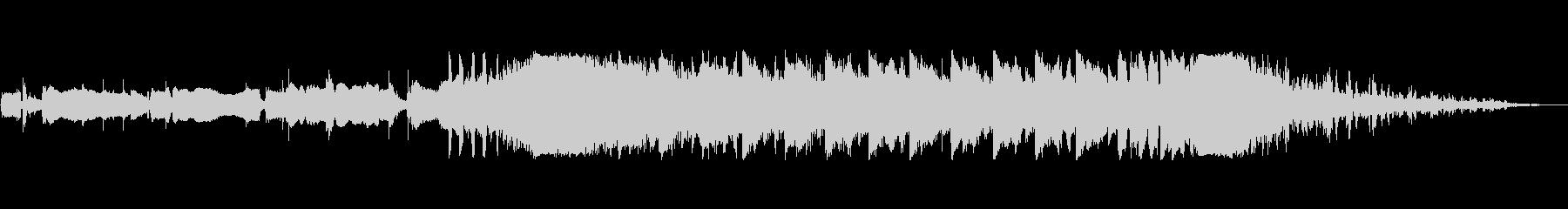 ウェイクアップブラームスIDベッド1の未再生の波形