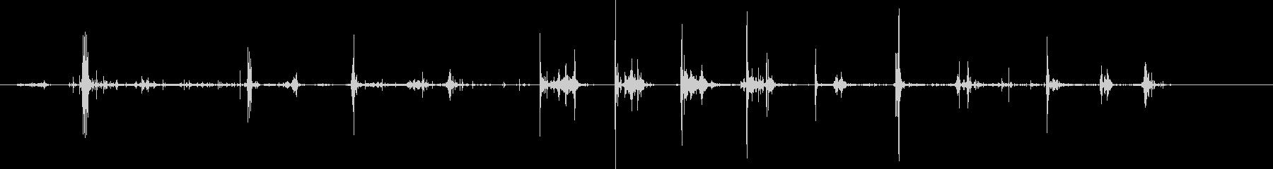 シャベルディグダート;音と破片をこ...の未再生の波形