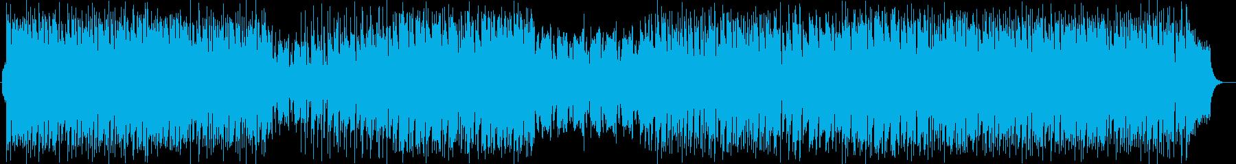 お洒落キャッチーなシンセサイザーサウンドの再生済みの波形