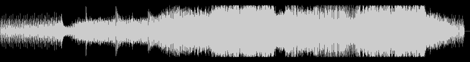 明暗が入り混じったようなEDMの未再生の波形