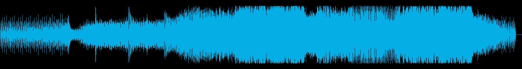 明暗が入り混じったようなEDMの再生済みの波形