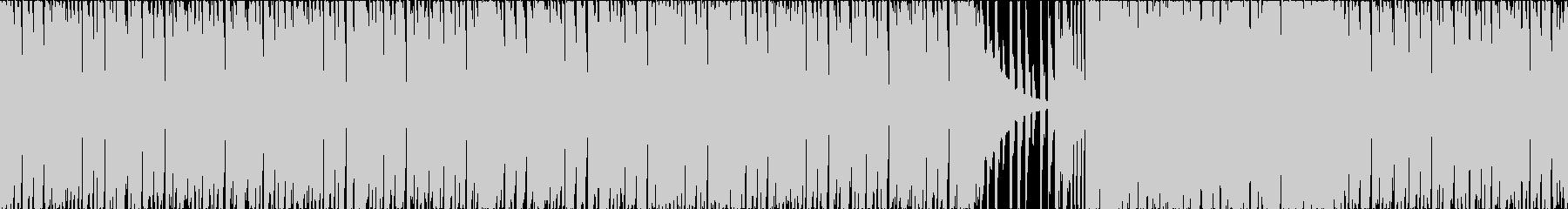 新型コロナニュースにぴったりBGMの未再生の波形