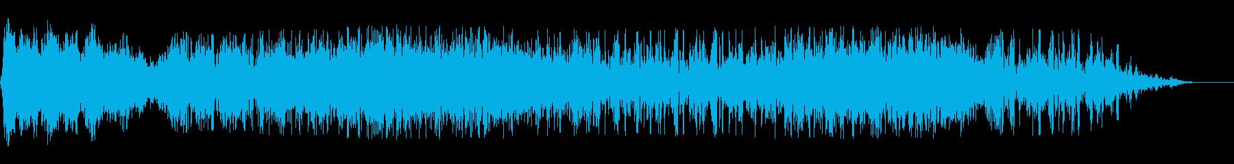 メタルスペースの解決1の再生済みの波形
