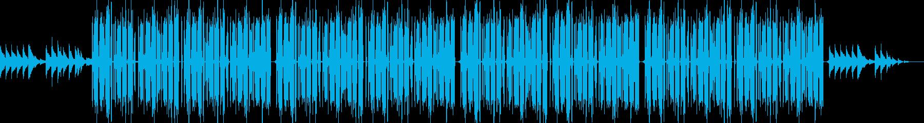 ヒップホップ ビート 悲しい 切ない 夢の再生済みの波形
