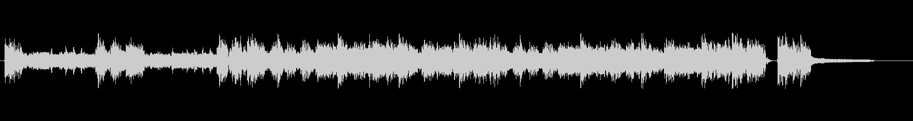 ロック音源15秒の未再生の波形