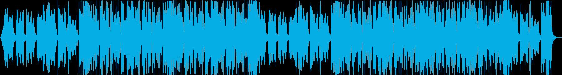 おしゃれクールセクシーR&Bエレクトロaの再生済みの波形