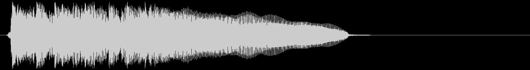 かっこいいバンドサウンドのアイキャッチの未再生の波形