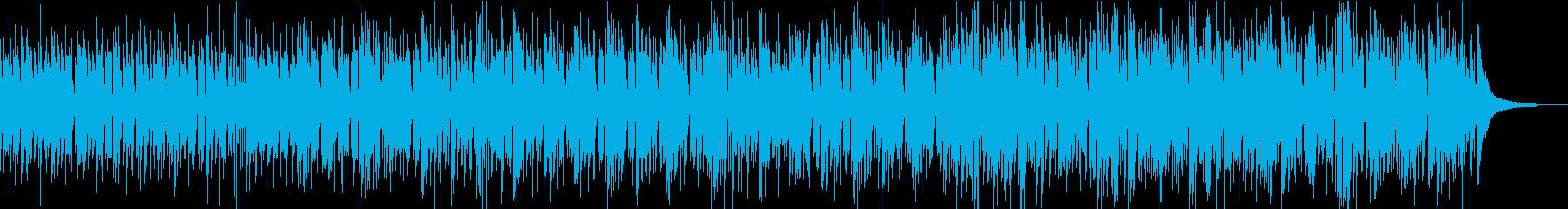 ボサノバ・ピアノ・軽快・おしゃれ・料理の再生済みの波形