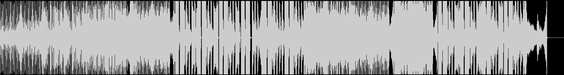 シンセサイザーでインスピレーションな曲の未再生の波形