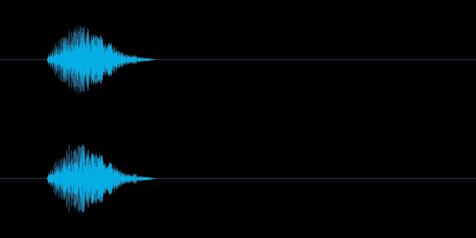 【猫 合成01-3】の再生済みの波形