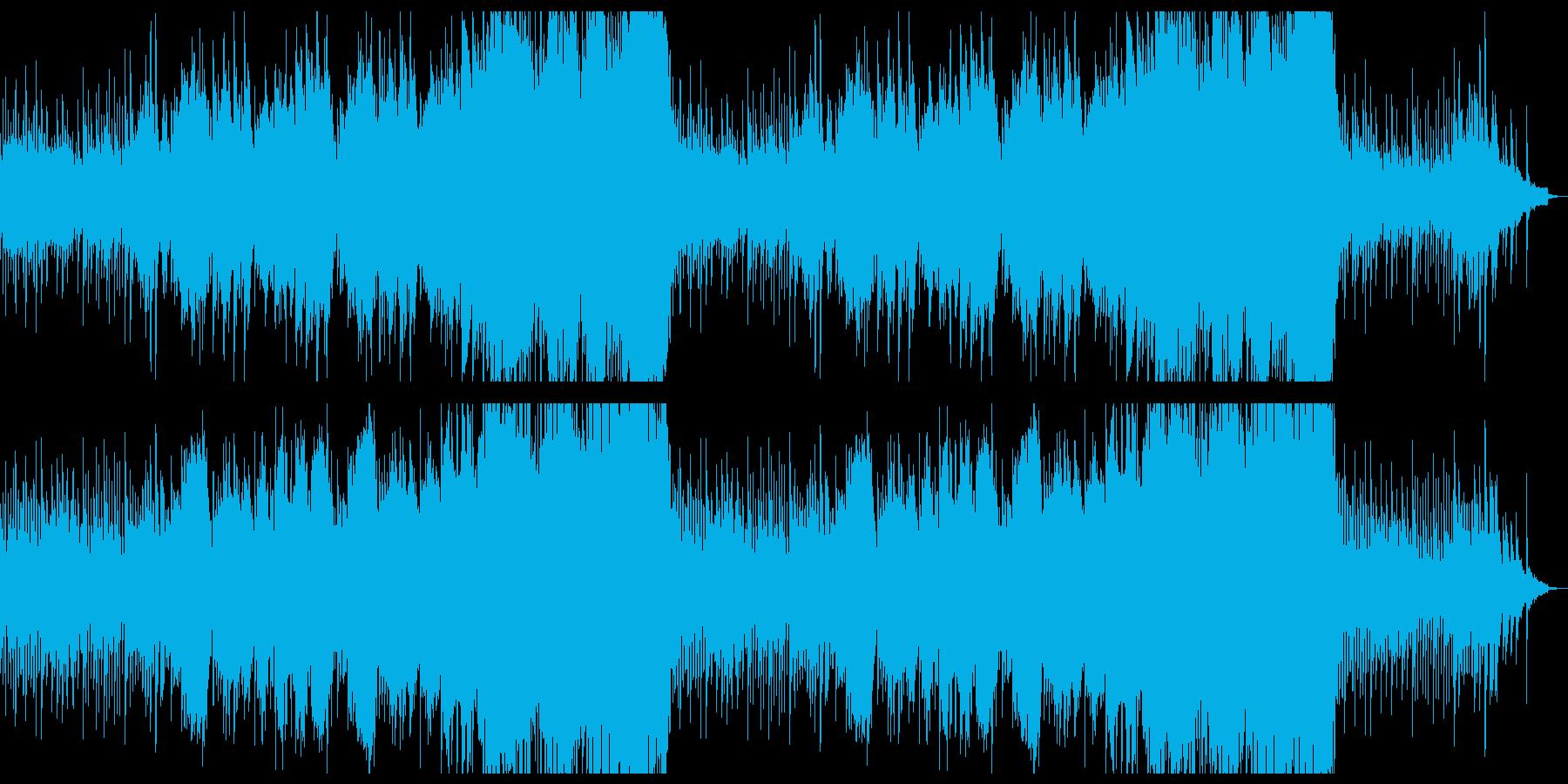 懐かしい哀愁の感動的なシネマシンフォ。の再生済みの波形