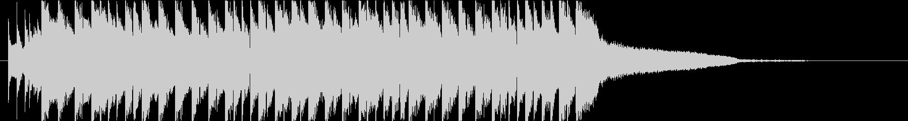 かわいいEDM オープニングの未再生の波形