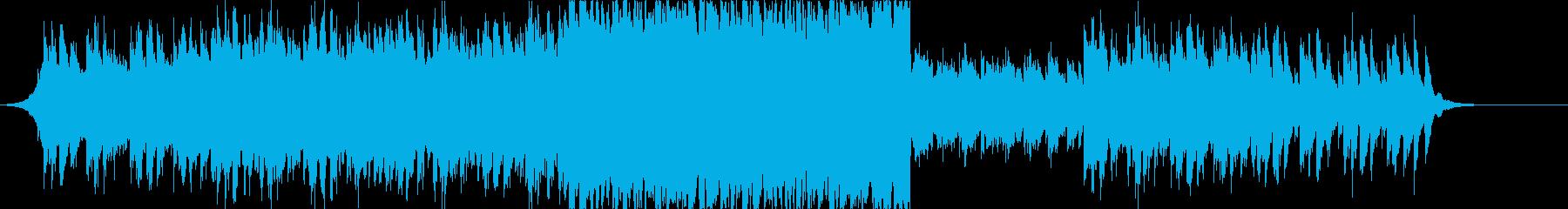 切ない 夏 トロピカルなポップスの再生済みの波形